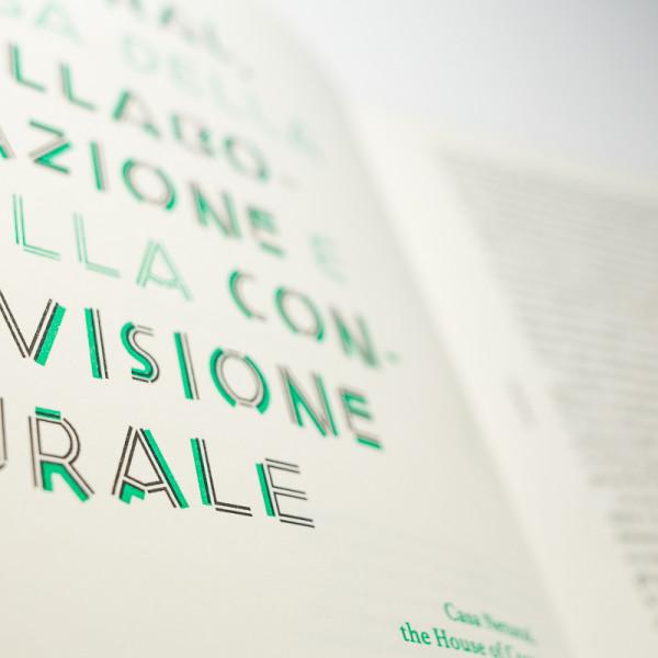 Text / Risograph printing